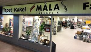 Färghandel - Måla Färgbutik i Gamleby